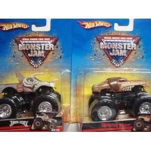 Hot Wheels Monster Jam 2 Popular Trucks Monster Mutt