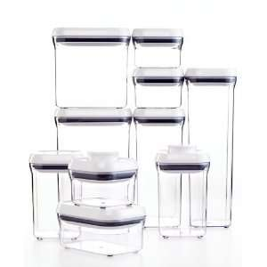 OXO Good Grips 10 Piece POP Container Set  Kitchen