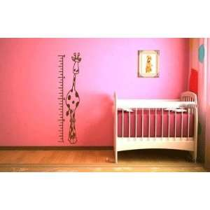 Growth Chart Vinyl Wall Decal Sticker By LKS Trading Post Baby
