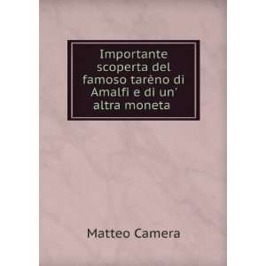 Importante scoperta del famoso tarèno di Amalfi e di un