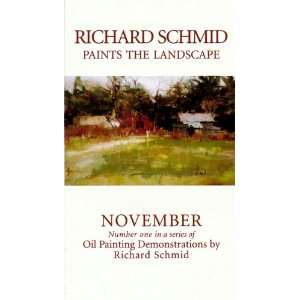 November (Number One in a Series of Oil Painting Demonstrations