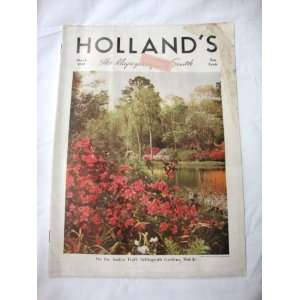Hollands Magazine March 1940 Texas Farm and Ranch Publishing