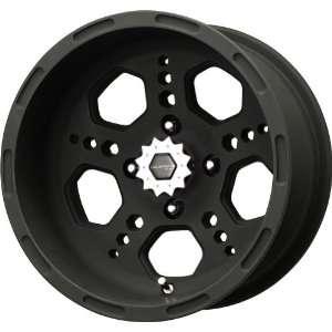 Metal Gatlin Series Matte Black Wheel (14x7/4x110mm) Automotive