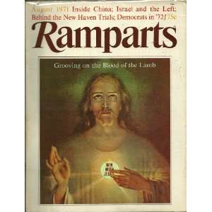 RAMPARTS 8/71 Grooving on the Blood of the Lamb Inside China