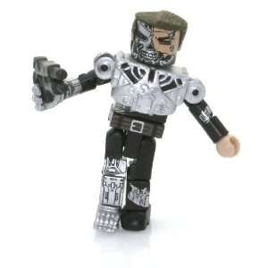 Day Minimates Mini Figure   Half Human Terminator Toys & Games