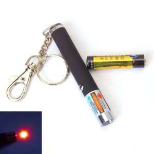 5mW 650nm Fixed Focus Red Laser Pointer Pen with AAA