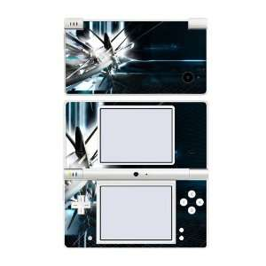 Nintendo DSi Skin Decal Sticker   Abstract Tech City