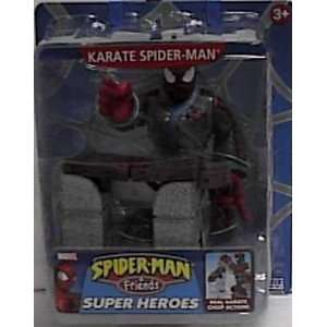 man & Friends Karate Spider man Action Figure By Toy Biz Toys & Games