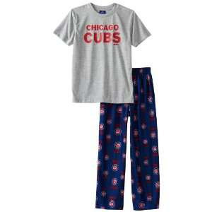 MLB Youth Chicago Cubs 2Pc Sleepwear Team Set  Sports