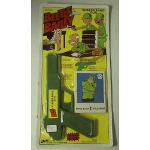 Vintage Beetle Bailey Rubber Band Gun Moc Toys & Games