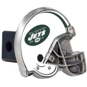 New York Jets Great American Metal Helmet Trailer Hitch