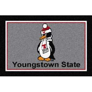 Youngstown State Penguins 22 x 33 Team Door Mat: Sports