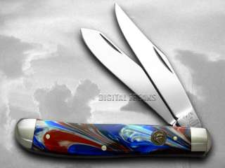 HEN & ROOSTER AND Star Spangled Trapper Pocket Knives