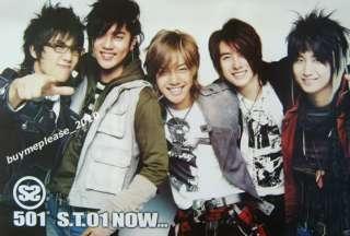 SS501 Korea Boy Band Music Korean Picture Poster #2
