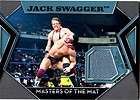 JACK SWAGGER ~ 2011 Topps WWE Mat Relic Card ~