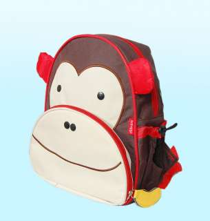 New Kids Monkey Zoo Animal Backpack School bag GIFT cute