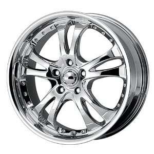 Racing Casino AR683 Chrome Wheel (20x8.5/5x114.3mm) Automotive