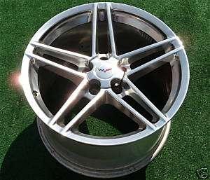 Brand NEW OEM GM CHROME Corvette Z06 ZO6 Wheel Rim 5347