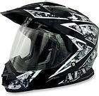 AFX FX 39DS Camo Dual Sport Motorcycle Helmet Black Urban XL/X Large
