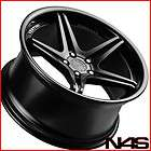 20 BMW E39 M5 VERTINI MONACO BLACK CONCAVE STAGGERED WHEELS RIMS