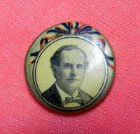 US BRYAN PRESIDENTIAL POLITICAL CAMPAIGN PIN BADGE BUTTON