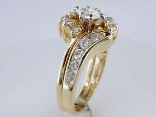 Zales / Kay 1ct G SI1 Diamond 14K Yellow Gold Engagement Ring Wedding