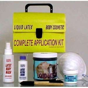 Liquid Latex Body Paint Application Kit Health & Personal