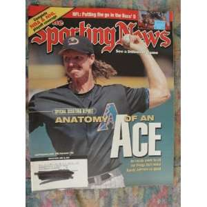 The Sporting News Magazine June 12 2000 Randy Johnson
