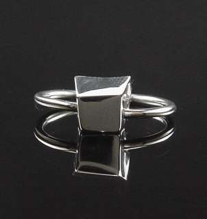 beautiful condition estate sterling silver Tiffany & Co. Frank Gehry