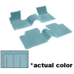Chevy Bel Air/Biscayne/Chevelle/Nova Floor Mats   Light Blue, 2pc 62