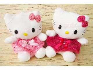 pcs Hello Kitty beautiful PLUSH toy cute NEW 7