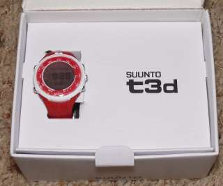 Suunto t3d Sporty Red w/ Dual Comfort Belt