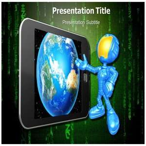 com 4g Technology PowerPoint Templates   Background On 4g Technology
