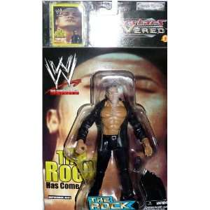 the ROCK   WWE Wrestling Superstars Uncovered Figure by