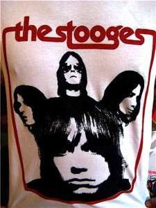 THE STOOGES IGGY POP TSHIRT GARAGE PUNK MC5 MOD CD