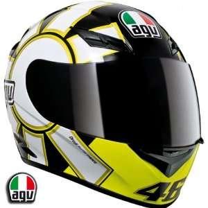 AGV K3 Rossi Gothic Black Motorcycle Helmet Large AGV SPA