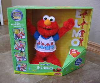 FISHER PRICE SESAME STREET DO THE DANCE WITH ELMO NEW