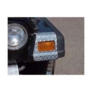 Polished Diamond Plate 2004 2006 Jeep Wrangler Unlimited TJL # 91802