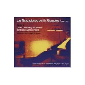 Grabciones De 1998 2011 + Dvd SR. GONZALEZ Music