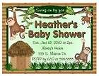 20 Custom Baby Shower Invitations King Jungle