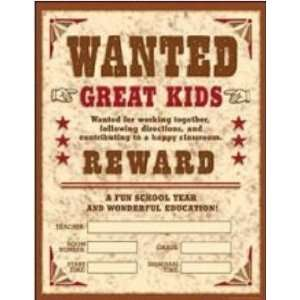 Teachers Friend 978 0 439 92029 2 Wild West Wanted Chart