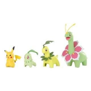 Pokemon Evolutionary Stages JAPANESE Snap Together Model Kit Chikorita