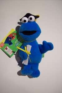 Gund Sesame Street Mini Graduate Plush COOKIE MONSTER
