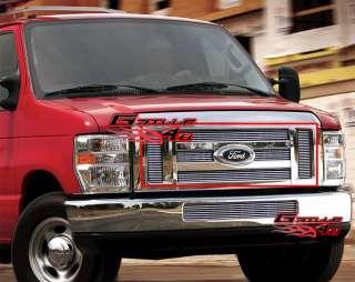 08 11 2011 Ford Econoline Van/E Series Billet Grille