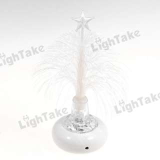 NEW USB Fiber Optic Multi Colored LED Christmas Tree