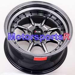 16 16x8 XXR 002 Black Rims Deep Dish 67 Mustang GT V8