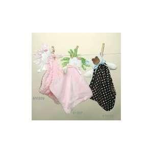 Woof n Poof Baby Buddy Blanket   Doll, Pink Velour
