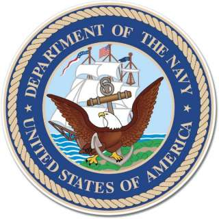 US Navy Department of the Navy Seal Wall Window Sticker Decal Mural