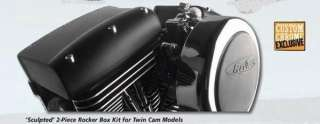 SCULPTED ROCKER BOX COVERS KIT FOR HARLEY TWIN CAM 1999 2012