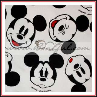 BOOAK Fabric Mickey Mouse Xmas Disney Boutique BCMM OOP